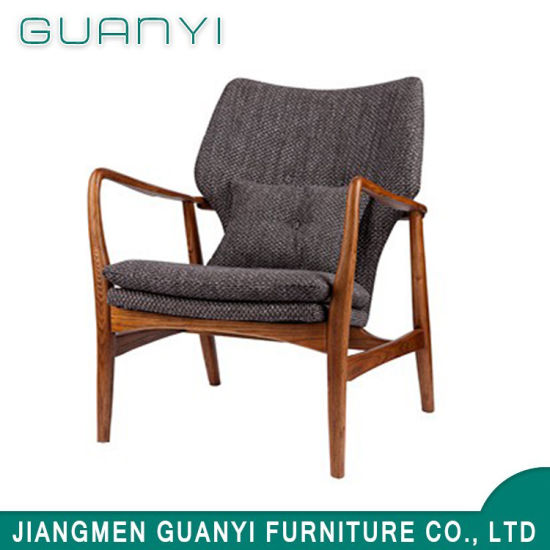 2019 Modern Leisure Wooden Furniture Living Room Sofa Chair