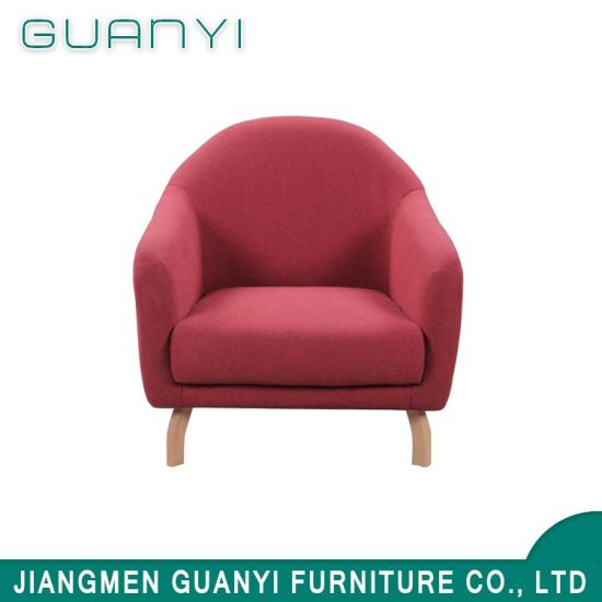 2018 Latest Modern Single Fabric Sofa Chair Living Room Furniture
