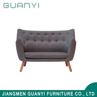 Modern Gorgeous Home Furniture Sofa Brown Elegant Sofa with Wood Leg for Living Room