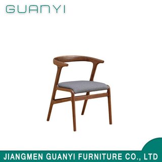 2018 Elegant Simple Soft Seat Hard Back Dining Chair
