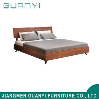 New Modern King Double Sponge Ameican Wooden Bed Luxury Designs Furniture
