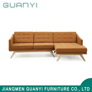 2019 Modern Wooden Furniture Living Room Corner Sofa