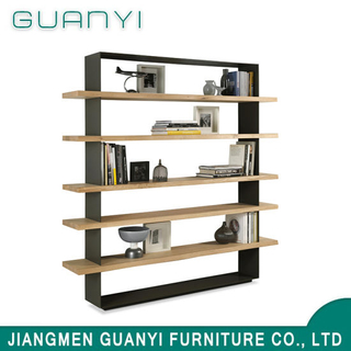 Modern Design Multilayer Solid Wood Furniture Cabinet Bookcase