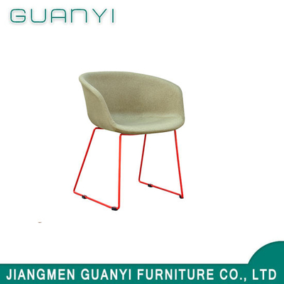 Metal Legs Injection Foam Cover Dining Chair