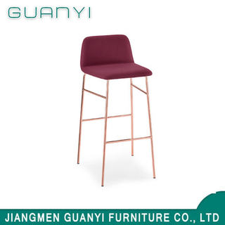2019 Modern New Rose Golden Hotel Furniture Bar Stools
