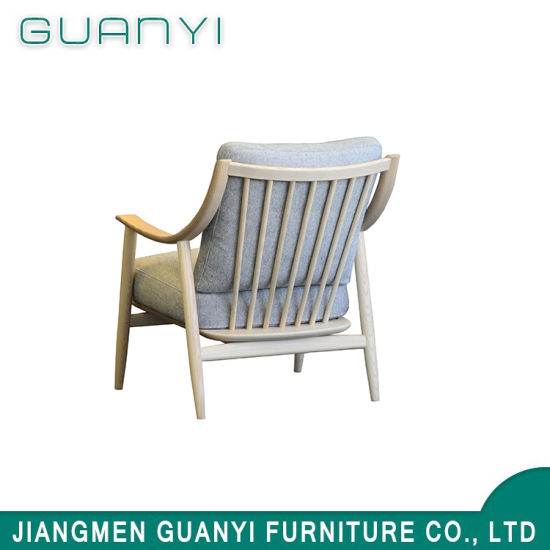 Factory Price New Design Modern Wooden Hotel Home Armchair