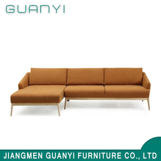 2019 Modern Wooden Furniture Hotel Living Coner Sofa