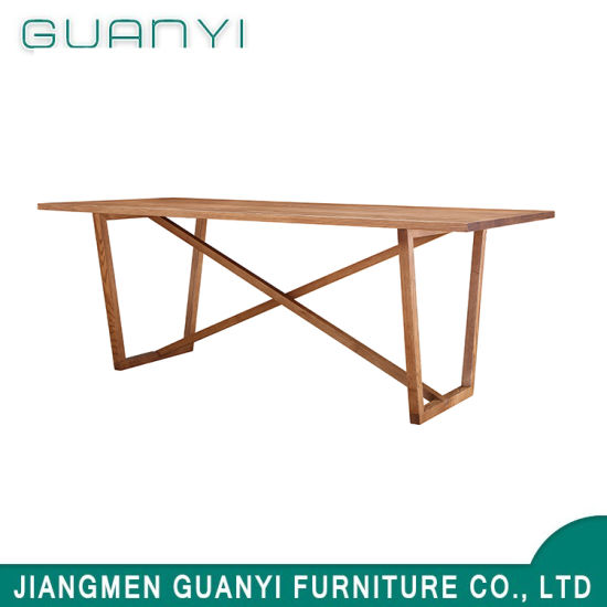 Simple Wooden Office Meeting Furniture Conference Table