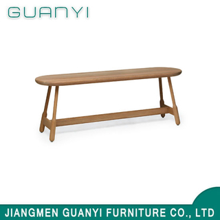 Modern Style Soild Wood Furniture Restaurant Long Benches Chair