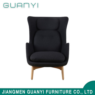 Modern Recliner Leisure Chair / French Black Chair Design