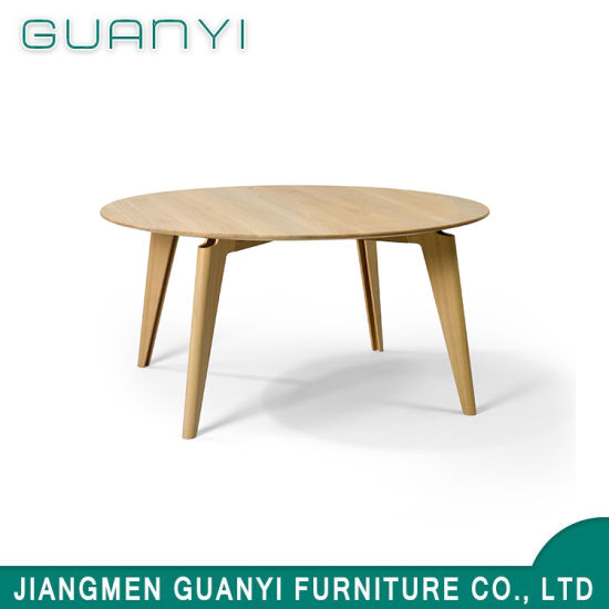 2019 New Design Wooden Furniture Hotel Restaurant Dining Table