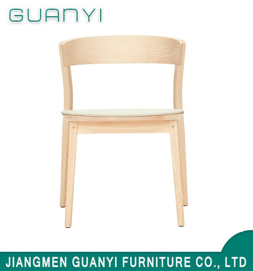 Natural Solid Ash Wooden Furniture Dining Chair