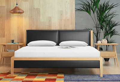 Latest King Size Wood Double / Single Modern Leather Fancy Bed Designs Furniture with Box