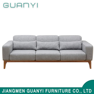 2019 Modern Wooden Furniture Three Seats Sofa Sets