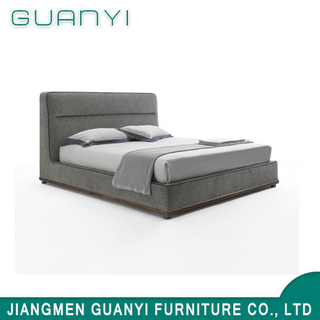 2019 Modern Wooden Furniture Hotel Double Bed