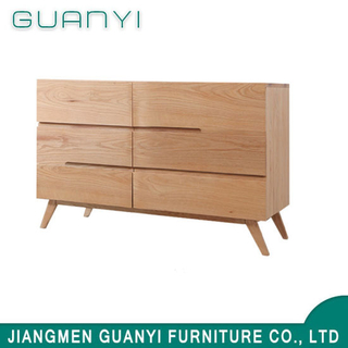 2019 Modern Wooden Furniture Three Drawers Bedroom Carbinet