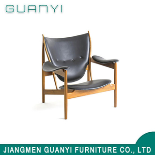 2019 Classical European Style Wooden Leisure Hotel Armchair
