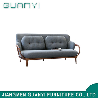 Modern Home Furniture Fashion Design Black Elegant Sofa Fabric Sofa for Living Room