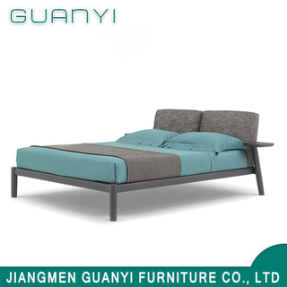 2019 Modern Wooden Hotel Furniture King Double Bed