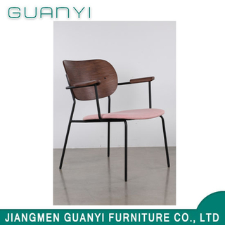 Simple Metal Lesiure Home Furniture Arm Chair