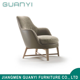 2019 Wooden High Back Hotel Furniture Leisure Armchair