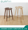 Morden Solid Wood Pub Dining Cafe Breakfast Bar Stool