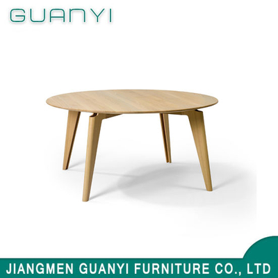 2019 Modern New Wooden Round Dining Sets Restaurant Table