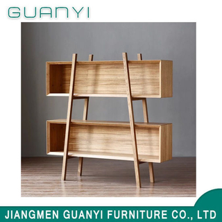 2019 Modern Wooden Furniture Storage Shelving House Bookcase